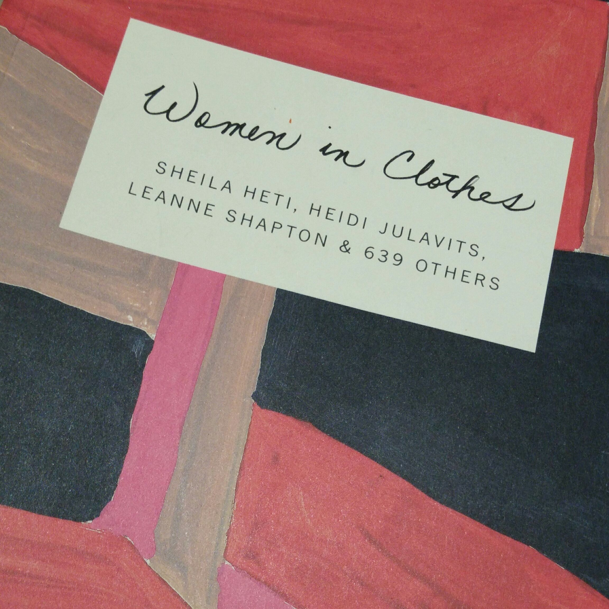 Women in Clothes, Sheila Heti, Heidi Julavits, Leanne Shapton