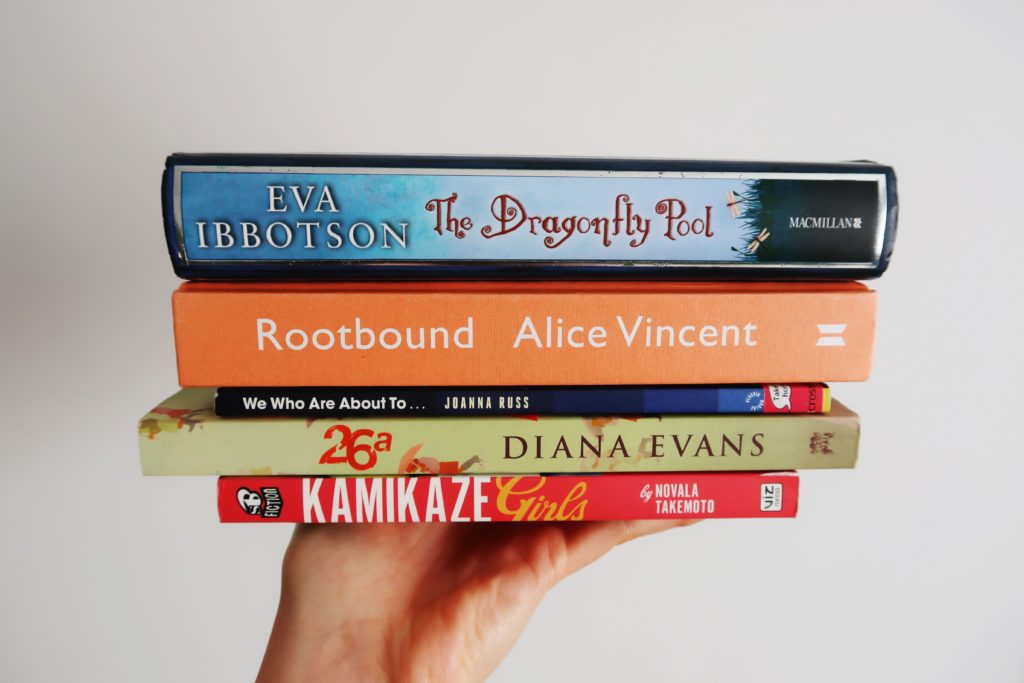 Easter Readathon 2020 To Be Read pile